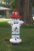 Image for Dalmatian hydrant - Yukon, Oklahoma USA
