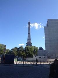 I am the walrus - Eiffel Tower - Paris, 2014