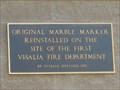 Image for FIRST - Visalia Fire Department - Visalia, CA