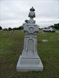Image for Harrison W. Christian - Kingston Cemetery - Kingston, OK