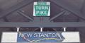 Image for New Stanton Service Plaza - Pennsylvania Turnpike MP 77.6 WB - New Stanton, Pennsylvania