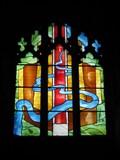 Image for Millennium Window - Goodrich Castle, Herefordshire, UK