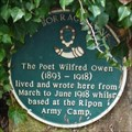 Image for Wilfred Owen – 24 Borage Lane, Ripon, N Yorks, UK