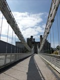 Image for Conwy Suspension Bridge -  Conwy, Wales, Great Britain.