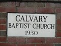 Image for 1930 - Calvary Baptist Church - Kingsport, TN