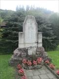 Image for Pomník obetem I.a II. svetové války - Sebrov, Czech Republic