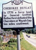 Image for Cherokee Defeat-Q 8