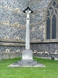 Image for WWI Memorial, All Saints Church, Sutton, Surrey UK