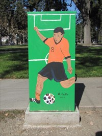 Soccer Theme, SE Side, San Jose, CA