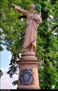 Image for 2706 Borovsky & Karel Havlícek Borovský monument - Kutná Hora (Central Bohemia)