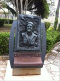 Image for Lawrence Durrell Memorial and Asteroid 2231 Durrell - Kerkyra, Corfu, Greece