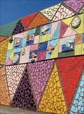 Image for Triangles - Mosaic - Eisenhower Pier, Bangor, Northern Ireland.
