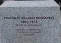 Image for Plaque de Franklin Delano Roosevelt - Québec, Québec