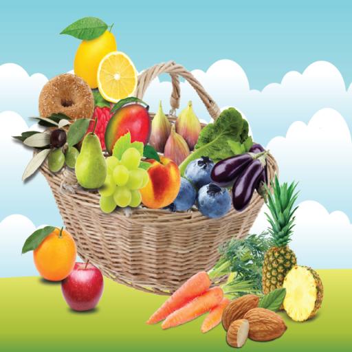 Eat Healthy Live Healthy Icon