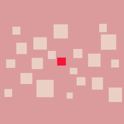 Red Square Cutter Icon