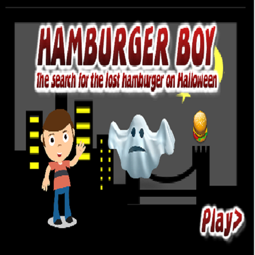 Hamburger Boy Icon