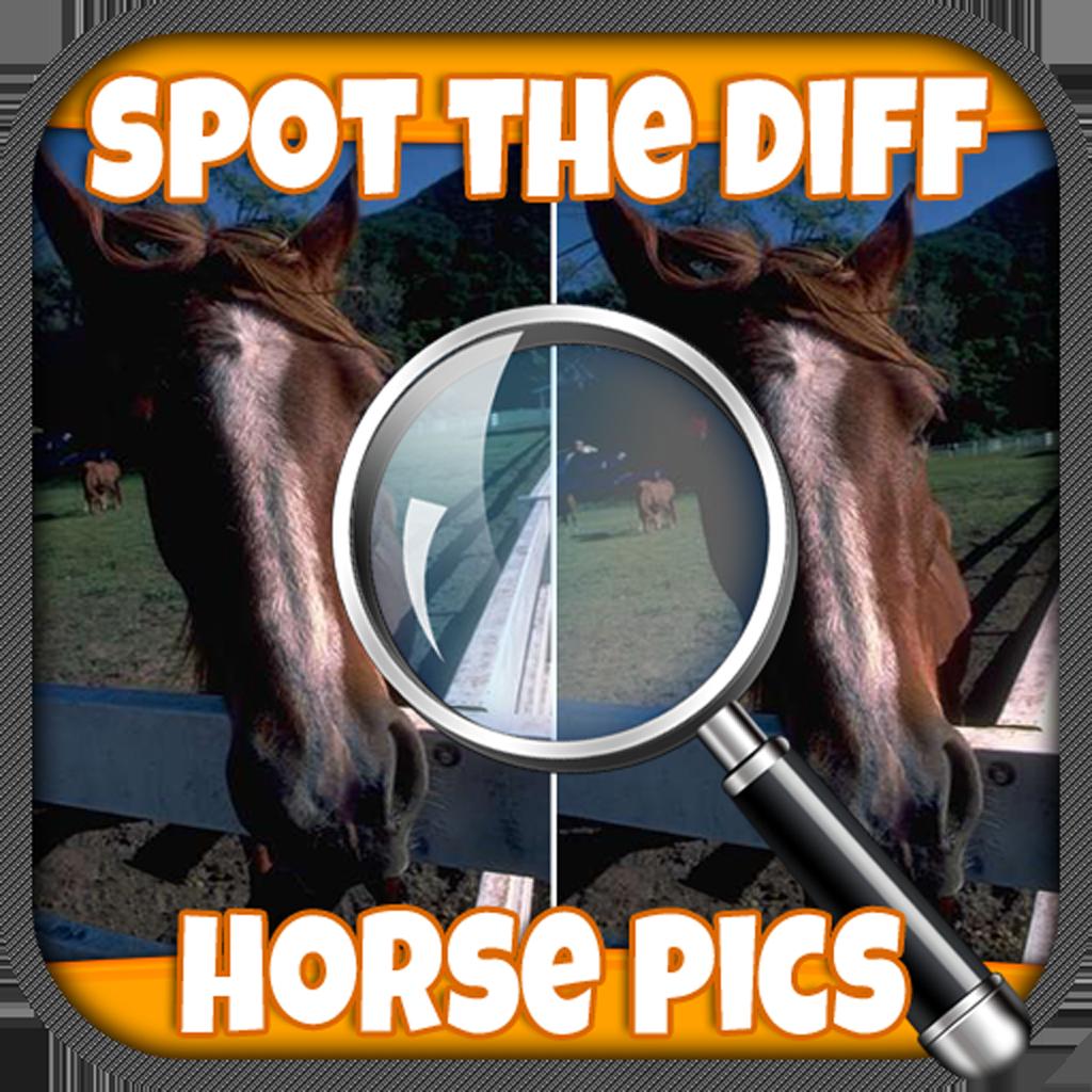 SpotDiffHorsePics Icon