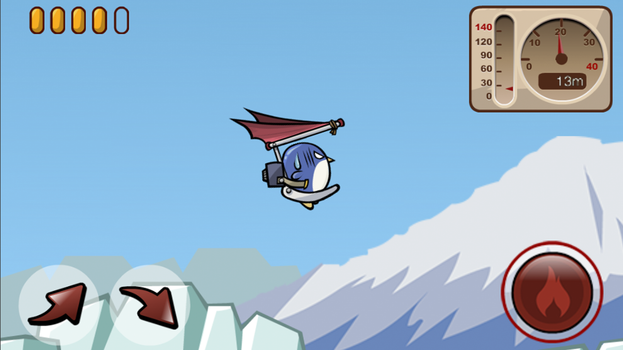 Penguin Flying Game