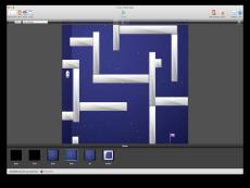 Space maze game