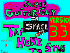 Super Guitar Guy: In Space version 3.3