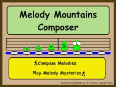 Melody Mountains Composer