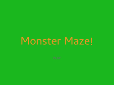 Zachariah_ Monster Maze w: 3 Lvls