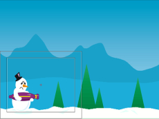 Angry Snowman! >.<
