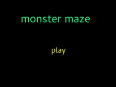 Monster_Maze