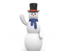 Snowman sidescroller