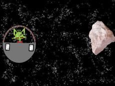 Senor Gato's Asteroid Mishap