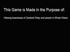 Raising Awareness of Cerebral Palsy