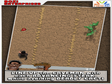 Caveman Runner HTML 5 Training