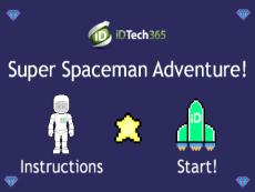 Super Spaceman Adventure! Publishing Tutorial Version