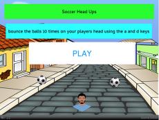 Soccer head-ups