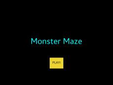 Monster Maze by Madison Bedenbaugh