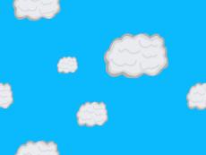 Clouds...clouds...clouds!