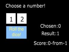 Predict the dice