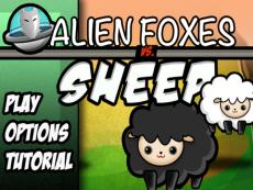 Alien Foxes v Sheep