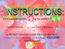 REDDY FREDDY The RED BLOOD CELL 3D Interactive Game App for Early Learners