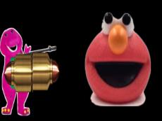 Elmo vs. Barney