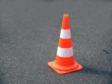 traffic cone simulator