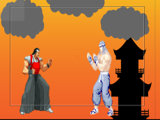 Samurai Fighter Game
