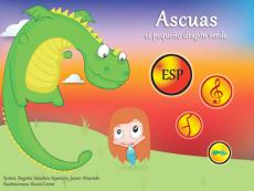 Ascuas, the little green dragon