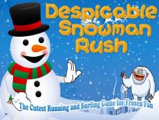 Snowman Rush Free