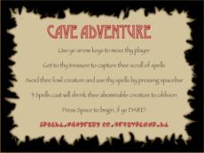 Cave Adventure Template