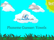 Phoneme Guesser: Vowels