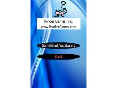 Ponder Games - GameSalad Vocabulary