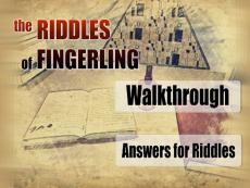 The Riddles of Fingerling - Walkthrough