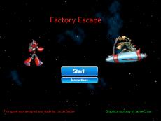 Jacob Boone's Factory Escape project