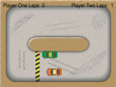 Simple Car Game.2 players:D